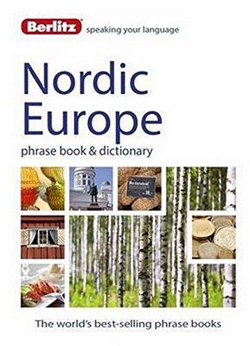 Phrasebook Danish Berlitz - Berlitz Language: Nordic Europe Phrase Book & Dictionary: Norweigan, Swedish, Danish, & Finnish (Berlitz Phrasebooks)