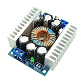 uniquegoods 100W DC-DC Step Down Converter 4.5-30V(max) to 0.8-30V Voltage Switching Car Power Supply Volt Buck 12A Max Converter Module for Battery Power Transformers DIY Adjustable Voltage Regulator