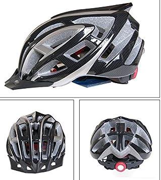 qyp de cascos de bicicleta cascos bicicleta casco bicicleta adulto, black-l, black