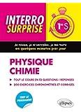 Interro Surprise Physique Chimie Première S