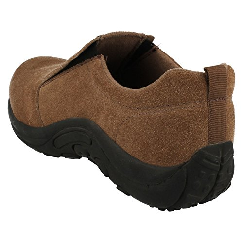 Down To Earth Mens Slip on Shoes Taupe 9RM1C