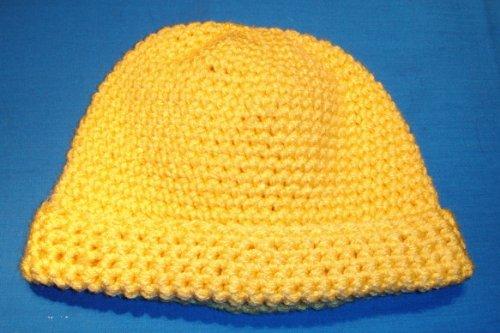 Ski Cap / Beanie Crochet Pattern for Children 3 - 10 Years Old