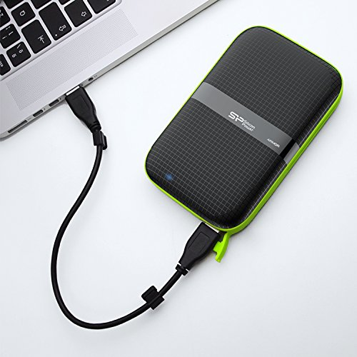 Silicon-Power-2TB-Rugged-Armor-A60-Military-grade-ShockproofWater-Resistant-USB-30-25-External-Hard-Drive-for-PC-Mac-Xbox-One-Xbox-360-PS4-PS4-Pro-and-PS4-Slim-Black