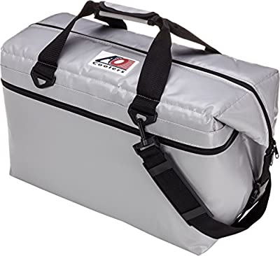 AO Coolers Water-Resistant Vinyl Soft Cooler with High-Density Insulation, 12-Can to 48-Can