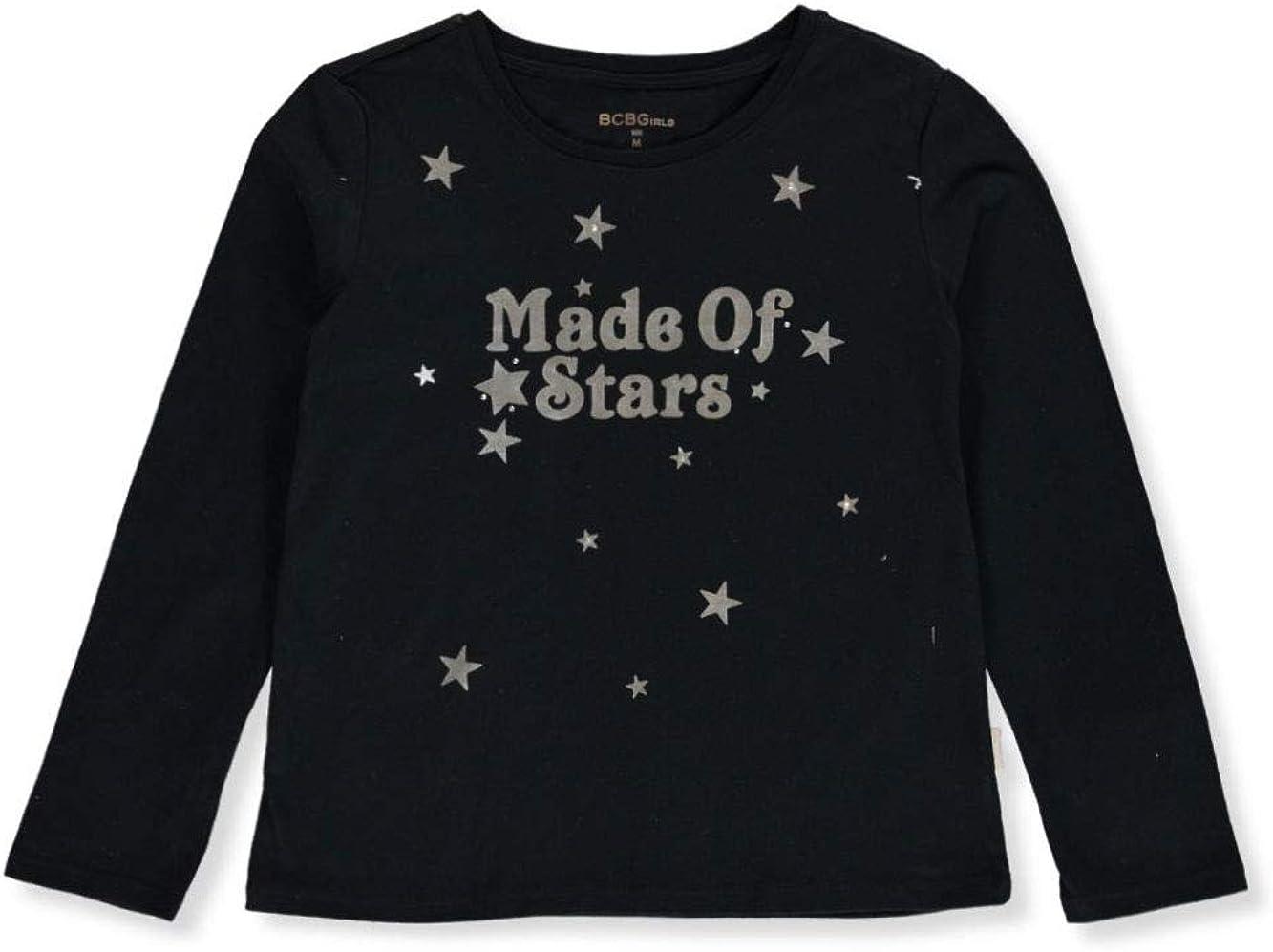 BCBG Girls Made of Stars L//S Top