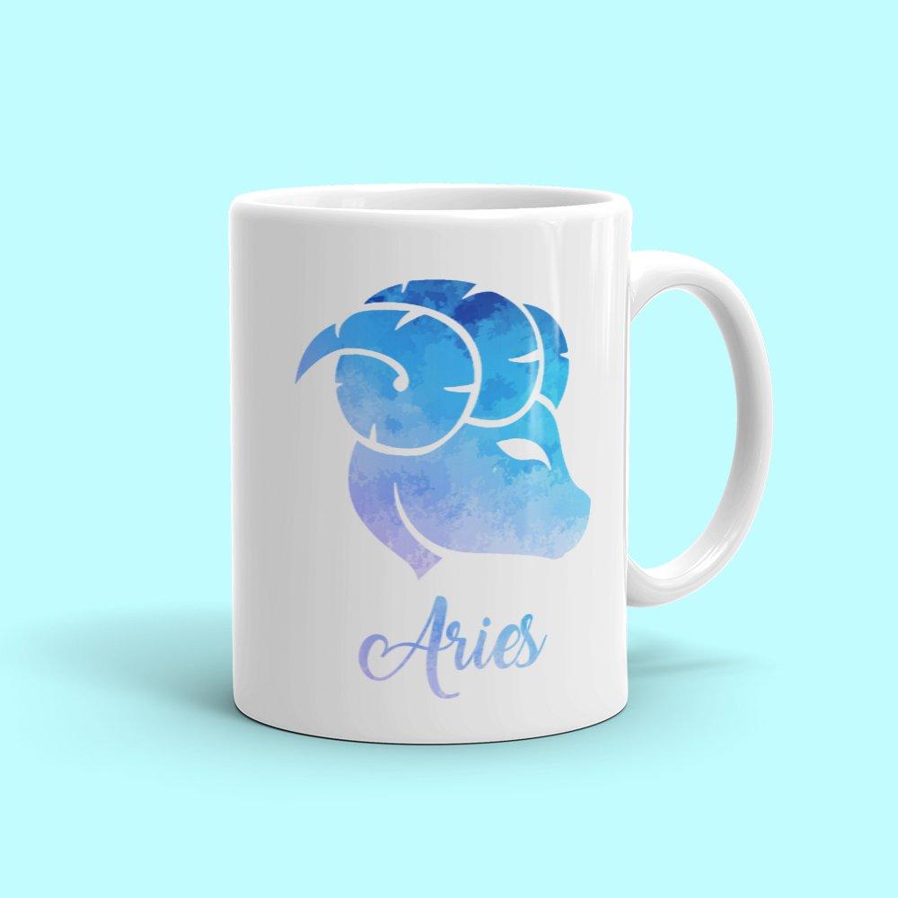 Amazon com: Aries Mug - Zodiac Sign Novelty Coffee Mug Great