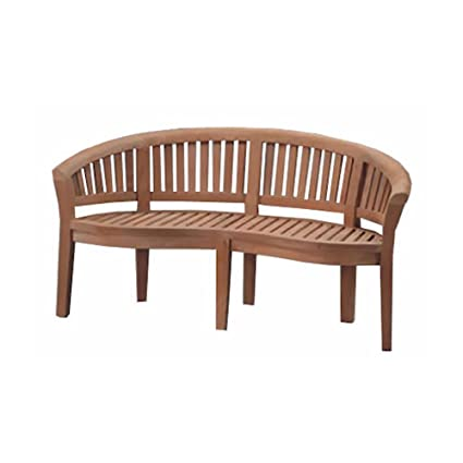 Strange Curve Teak Garden Bench Machost Co Dining Chair Design Ideas Machostcouk