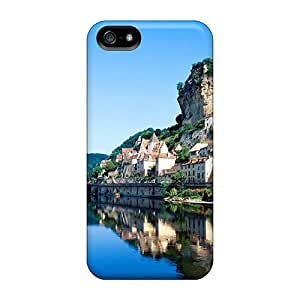 Zheng caseExcellent Design South Western France Beynac Phone Case For Iphone 5/5s Premium Tpu Case