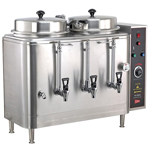 Grindmaster-Cecilware FE100N Coffee Urn - Makes 18 Gallons per Hour Cecilware Single Coffee Urn