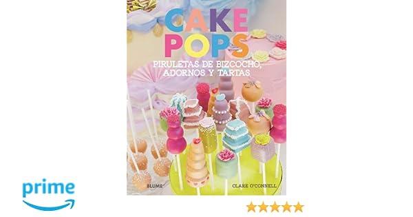 Cake Pops. Piruletas de bizcocho, adornos y tartas: Amazon ...