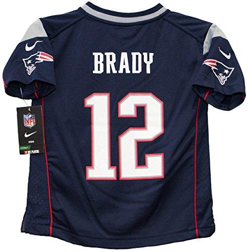 Tom Brady New England Patriots Preschool Nike Game Jersey  Kids 7