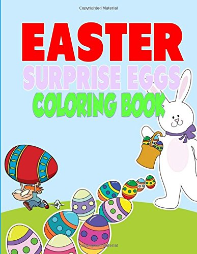 Easter Surprise Eggs Coloring Book