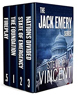 The Jack Emery Series: Books 1-3 by [Steve P. Vincent]