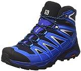 Salomon Mens X Ultra Mid 3 GTX Trail Sneaker,Navy Blazer/Indigo Bunting/Pearl Blue, 11.5 D(M) US