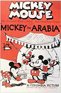 Mickey in Arabia Poster (11 x 17 Inches - 28cm x 44cm) (1932) Style A