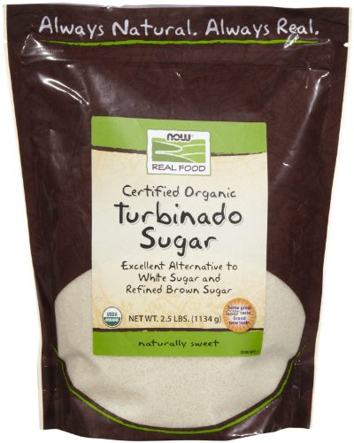 NOW Foods Organic Turbinado Sugar