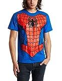 Marvel Men's Spiderman T-Shirt, Royal Blue, Large