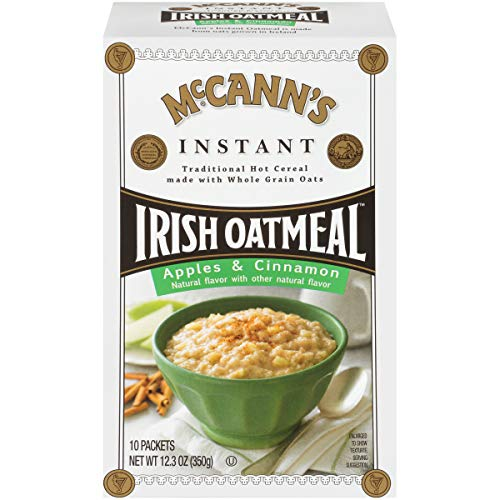 McCann's Apples & Cinnamon Instant Irish Oatmeal, 10 Count