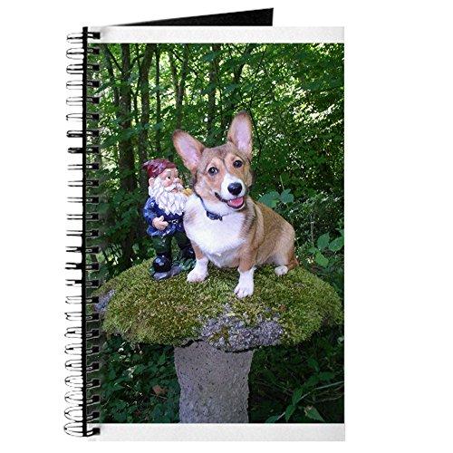 CafePress - The Enchanted Corgi - Spiral Bound Journal Notebook, Personal Diary, Dot - Gardens Pembrooke