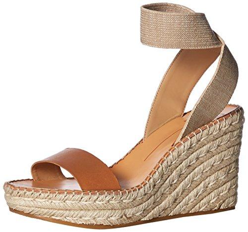 Dolce Vita Women's PAVLIN Wedge Sandal, Caramel Leather, 8.5 M US from Dolce Vita