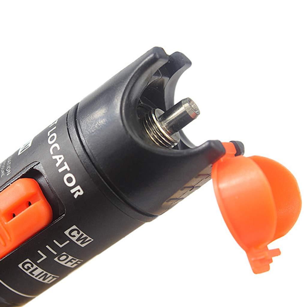 SM SunniMix Pack -70dBm~+10dBm 850~1625nm Optical Power Meter Tester FC SC Handheld Optical Power Meter + 10mW Visual Fault Locator Pen by SM SunniMix (Image #7)