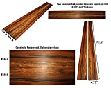 Cocobolo boards set #14,72.5 inches long x 4.75 inches wide x 0.875 inches thick