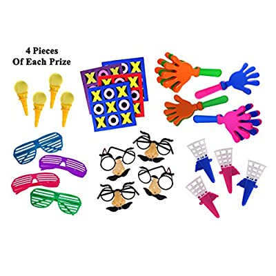 Smart Novelty Super Jumbo Toy Assortment Includes A Vast Variety of Over 200 Toys and Prizes for Parties, School Classroom Rewards, Carnival Prizes, Doctors/Dentists Office Prize Box Fillers (Sold: Toys & Games
