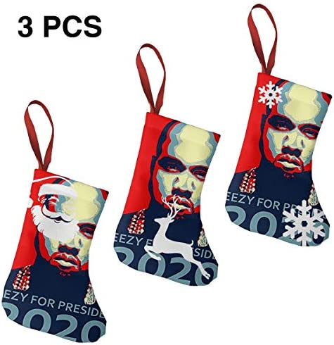 クリスマスの日の靴下 (ソックス3個)クリスマスデコレーションソックス President Election 2020 クリスマス、ハロウィン 家庭用、ショッピングモール用、お祝いの雰囲気を加える 人気を高める、販売、プロモーション、年次式