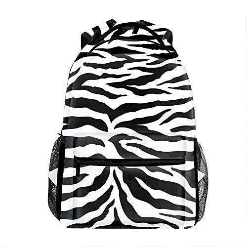 3D Zebra School Backpacks Travel Bags for Teen Girls Boys
