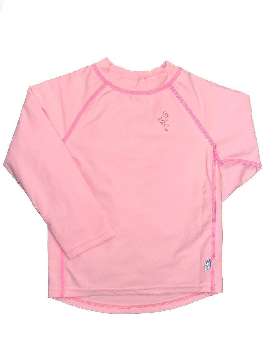 6-12 Mths Pink Long Sleeve Rashguard by Iplay UPF 50