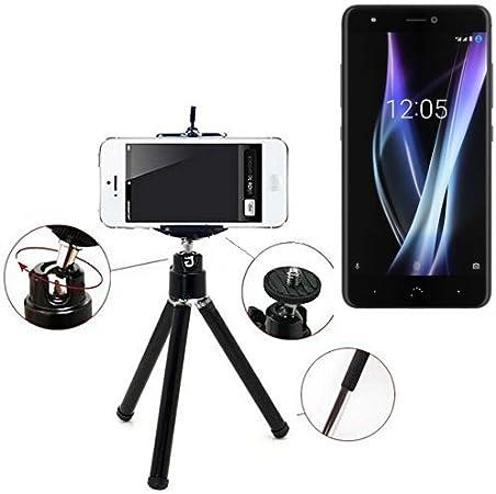 K-S-Trade Smartphone trípode/Soporte móvil/trípode como para BQ ...