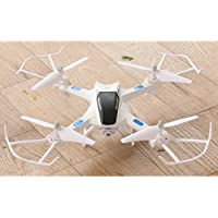 Lookatool Hot Sale S21 LED Altitude Hold 2.4G 2MP HD Camera 6-Axis WIFI FPV RC Quadcopter Warrior Drone, white
