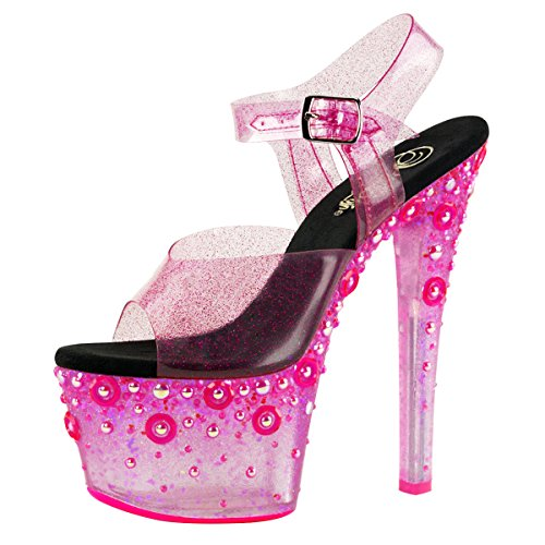 Pleaser Day and Night , chaussures compensées femme