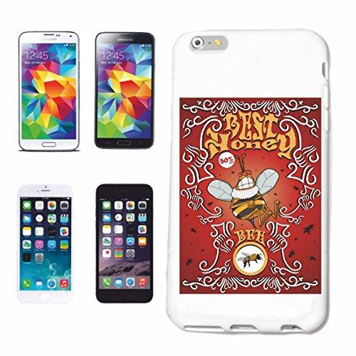 """cas de téléphone iPhone 7+ Plus """"MEILLEURS BEES HONEY BEE WASP HUMMEL MOUSTIQUES STING STITCH INSECTES BEE WASP HUMMEL MOUSTIQUES STING BEES INSECTES STING"""" Hard Case Cover Téléphone Covers Smart Cove"""