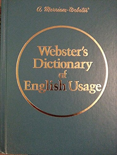 Webster's Dictionary of English Usage