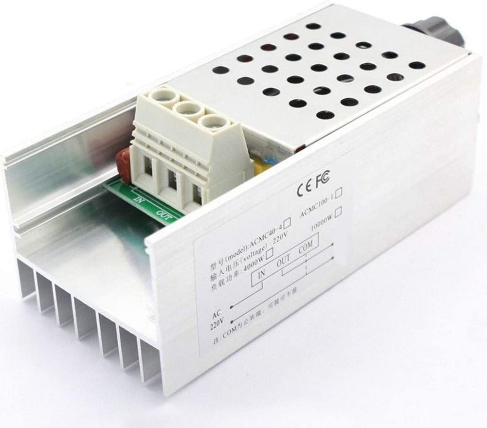 2000W SCR 220V Voltage Regulator Motor Speed Control Dimmer Thermostat Converter