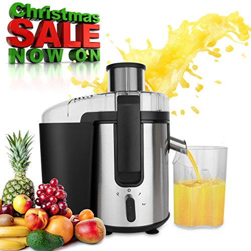 BuySevenSide Multi-Function Juicer Extractor 4-in-1 Kitchen System (Blender, Processor, Grinder, Meat Grinder) with Juice Jug and Cleaning Brush