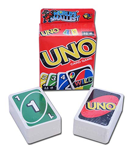 World's Smallest Uno Card Game]()