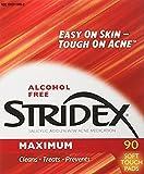 Stridex Daily Care Acne Pads Maximum Strength - 90 ct