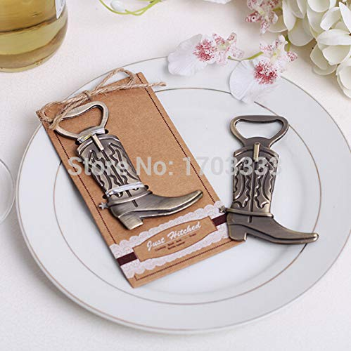 (Bottle Opener - Wedding Favor Gift And Giveaways Retro Boots Shoes Bottle Opener Party Souvenir 200pcs Lot - Yoption Jar One Flip Caps Novelty Helper Clip Electric Grip )
