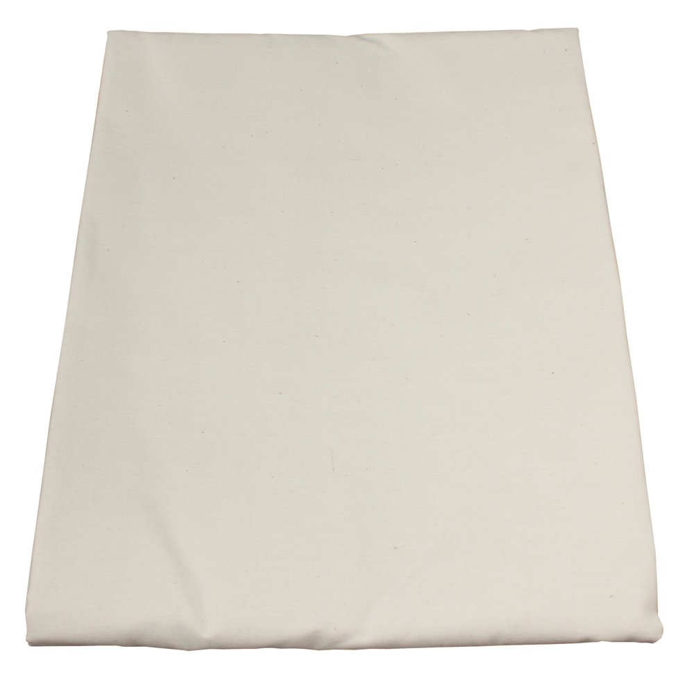 Massage Table Sheet Set by Body Linen {Natural Poly/Cotton} - Extra-Large Sheet for Optimum Coverage and Fit with Standard Size Tables and Face Cradles - Super Soft and Durable for Professional Use by Body Linen