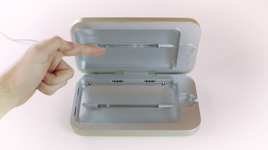 PhoneSoap 3 UV Smartphone Sanitizer & Universal Charger | Patented & Clinically Proven UV Light Disinfector | (Aqua)