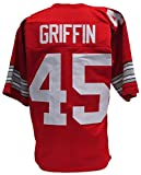 Archie Griffin Custom Red College Style Football Jersey XL
