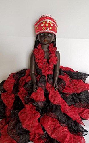 Elegua, Doll, Muñeca, Gala, Santeria, Yoruba, Orishas, Ifa