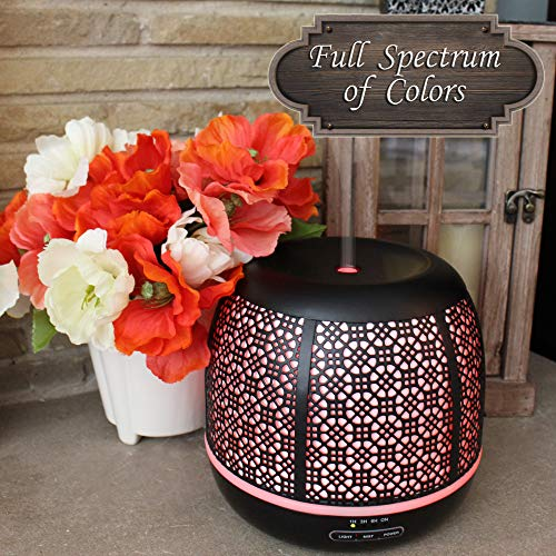 Secret Garden Oil Diffuser, Ultrasonic Aromatherapy Humidifier, 500ml