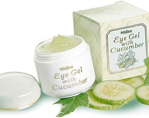 Mistine Anti-wrinkle Brightening Cucumber Eye Gel 10 g.