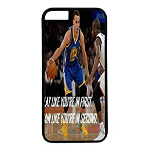 iPhone 6 plus case,fashion durable Black side design for iPhone 6 plus,PC material cover ,Designed Specially Pattern with Inspiration,Stephen Curry. by mcsharks