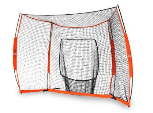 Baseball Foul Pole (Bownet 12' x 8' Portable Hitting Station with Net and Frame)