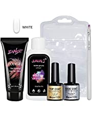 polygel nail kit PolyGel Professional Nail Technician All-in-One Enhancement French Kit 6 colors optional,Nail Thickening Solution