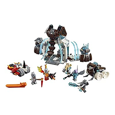 LEGO Legends of Chima 70226 Mammoth's Frozen Stronghold Building Kit: Toys & Games